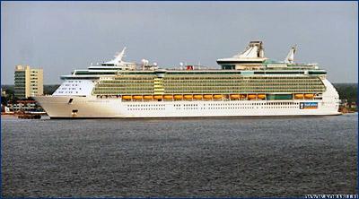 Молодой человек прыгнул за борт круизного лайнера «Independence of the Seas»
