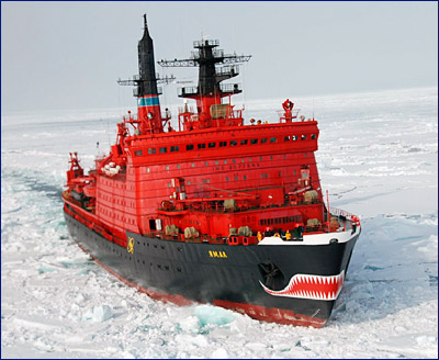 Атомный ледокол «Ямал» отправился в первый в рейс после завершения ремонта