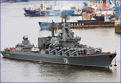 Флагман Черноморского флота крейсер «Москва» встанет на модернизацию в 2018 году