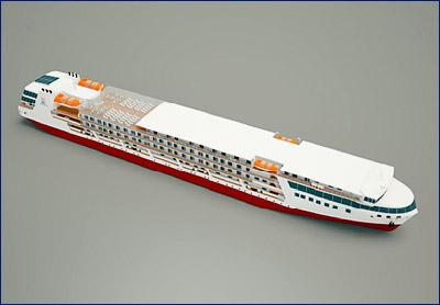 На «Лотосе» приступили к строительству речного круизного лайнера проекта PV300VD