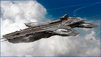 РФ ведет разработку летающего авианосца