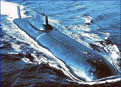Россия строила самые большие (и самые устрашающие) атомные подводные лодки