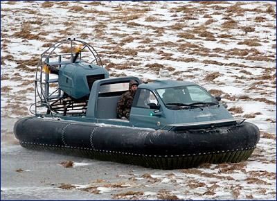 В Петербурге создали новое судно на воздушной подушке