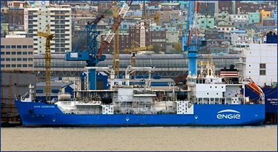 Первый в мире морской СПГ бункеровщик ENGIE Zeebrugge передан заказчику