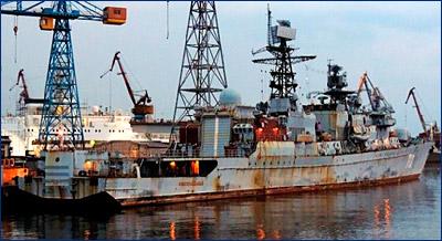 Сторожевой корабль «Неустрашимый» вернут в строй в ноябре 2017 года