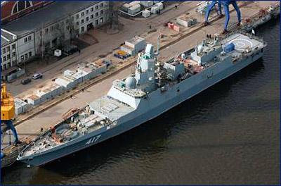 На палубные покрытия фрегата «Адмирал Горшков» потребуется 31 млн рублей