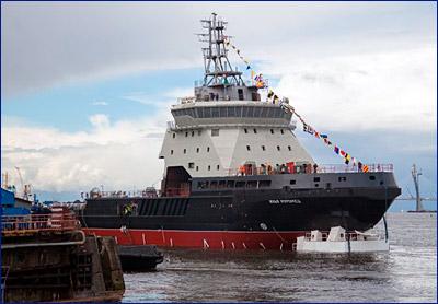 Ледокол «Илья Муромец» обещают передать Северному флоту уже осенью