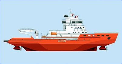 Ледокол «Андрей Вертицкий» планируется спустить на воду в мае 2017 года