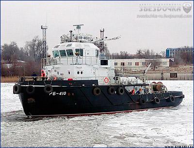 Состав Каспийской флотилии пополнился новым буксиром «РБ-410»