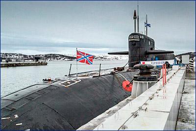 Ремонт АПЛ «Брянск» начнется в 2017 году в Северодвинске