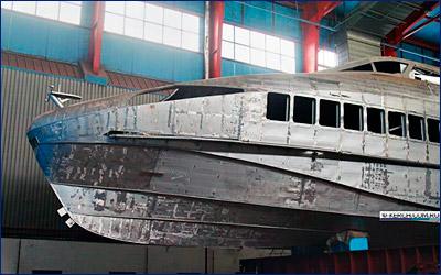 Керченский «Залив» ведет строительство третьего теплохода проекта А145