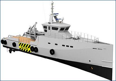 Damen построит два патрульных катера для нигерийского заказчика