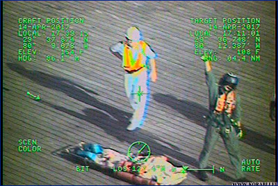 Береговая охрана США эвакуировала пострадавшую с борта круизного лайнера «Carnival Ecstasy»