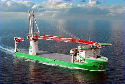 Wärtsilä поставит оборудование на первое в мире судно класса OCV на СПГ