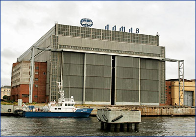 «Алмаз» построит малый ледокол обеспечения действий ВМФ в прибрежной зоне