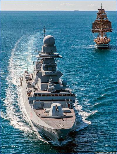 Многоцелевой фрегат «Luigi Rizzo» (F595) передан ВМС Италии