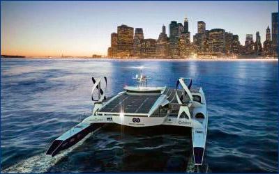 Во Франции спустили на воду первое в мире безэкипажное судно на водороде