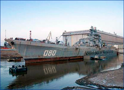 Крейсер «Адмирал Нахимов» вернется в боевой строй в 2020 году