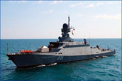 Дмитрий Рогозин: ВМФ нуждается в расширении поставок МРК проекта 21631