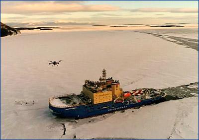 Ледокол «Новороссийск» пройдет ледовые испытания в Карском море