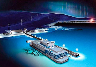 На «Академике Ломоносове» запустили оборудование радиационного контроля