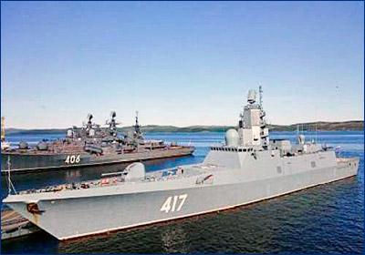 СКР «Адмирал Горшков» планируют передать флоту ко Дню ВМФ
