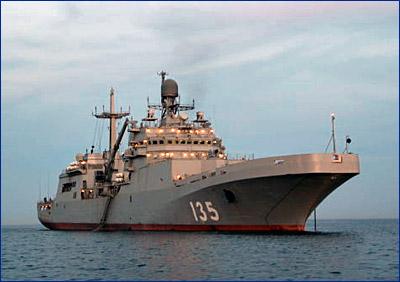 В состав ВМФ России в 2017 году войдет БДК «Иван Грен»