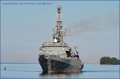 Судно связи «Иван Хурс» спустят на воду 16 мая