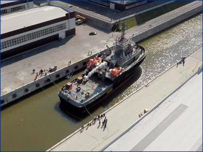 Спасательный буксир проекта 02980 «Полярный конвой» войдет в состав ВМФ в конце мая 2017 года