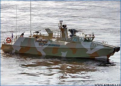 Черноморский флот пополнился двумя новейшими противодиверсионными катерами «Раптор»