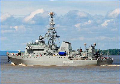 После «Ивана Хурса» для ВМФ построят еще два разведчика проекта 18280