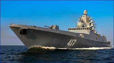 «Адмирал Горшков» войдет в состав ВМФ в ноябре 2017 года