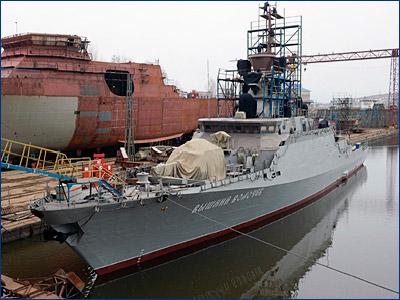 Вооруженный «Калибрами» МРК «Вышний Волочек» передадут Черноморскому флоту в октябре
