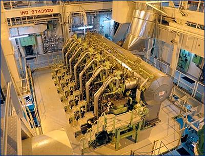 На судне Gaschem Beluga прошли испытания двухтопливного двигателя ME-GIE