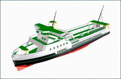 Самый мощный электрический паром «E-ferry» будет спущен на воду в конце года