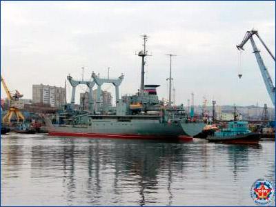 35-й СРЗ вывел из сухого дока судно «Георгий Титов»