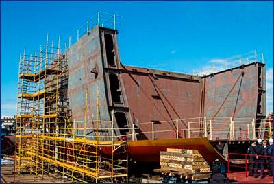 Коломенский завод произведет дизель-генераторы для патрульного корабля «Иван Папанин»