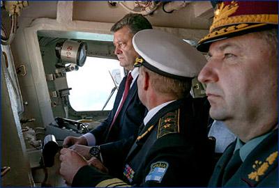 Завод Порошенко не справился с фрегатом