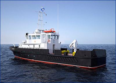 В ноябре флот получит два больших гидрографических катера