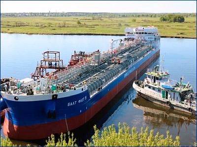 Четырнадцатый танкер проекта RST27 «Балт-Флот 15» вышел на ходовые испытания