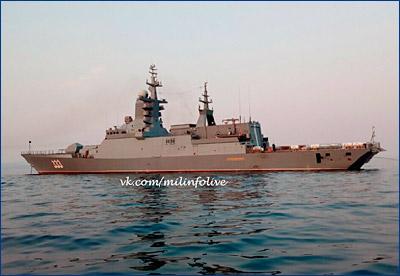 Тихоокеанский флот в ближайшем будущем получит три новых корвета