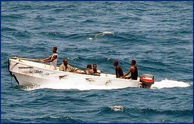 Сомалийские пираты захватили иранское рыболовное судно