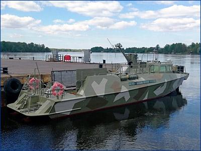 На «Пелле» спущен на воду патрульный катер проекта 03160 для Балтфлота