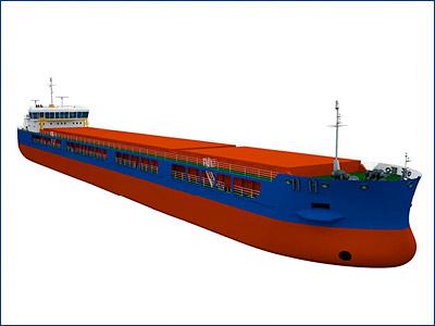 Невский завод заложил второе сухогрузное судно проекта RSD59