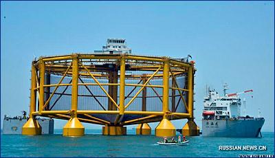 Оборудование для глубоководной рыбоводческой фермы отправилось в Норвегию из Циндао