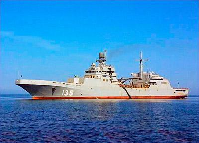 Второй в серии большой десантный корабль «Петр Моргунов» будет спущен на воду летом