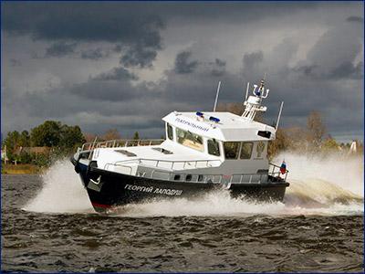 «Озерная Верфь» показала скоростной катер 12М