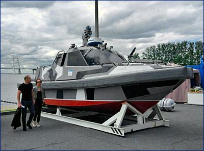 Военных заинтересовал новый беспилотный катер