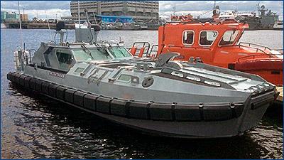 На МВМС-2017 показали десантно-штурмовой катер для ВМФ
