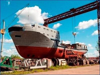 ЯСЗ спустил на воду морской буксир «Андрей Степанов»